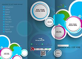 Les différents types et formats de dépliants publicitaire en image et exemple