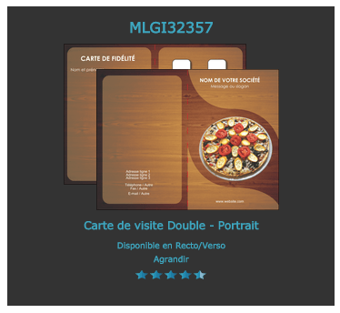 Carte De Fidelite Pizza