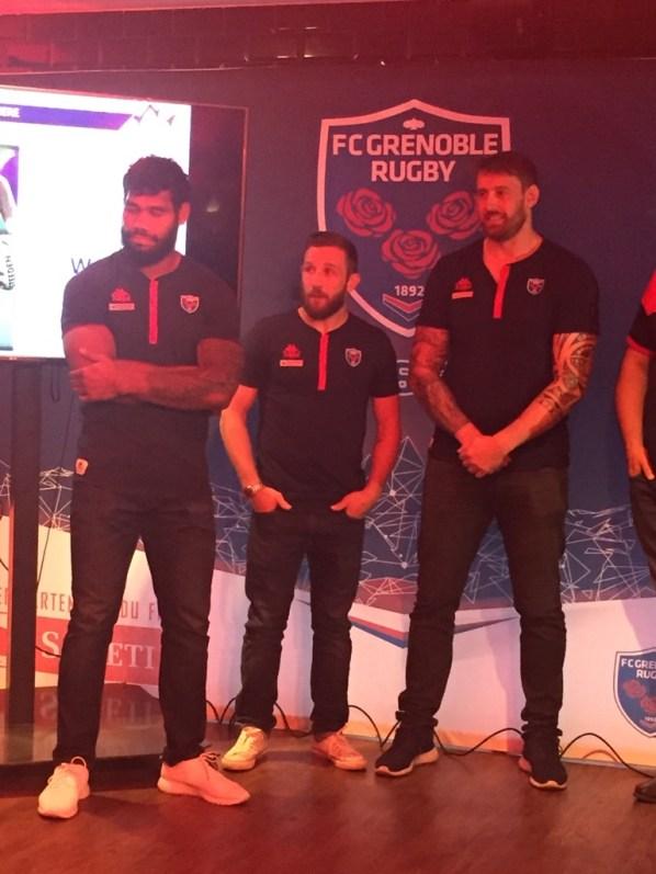 Un trio de joueurs du FCG