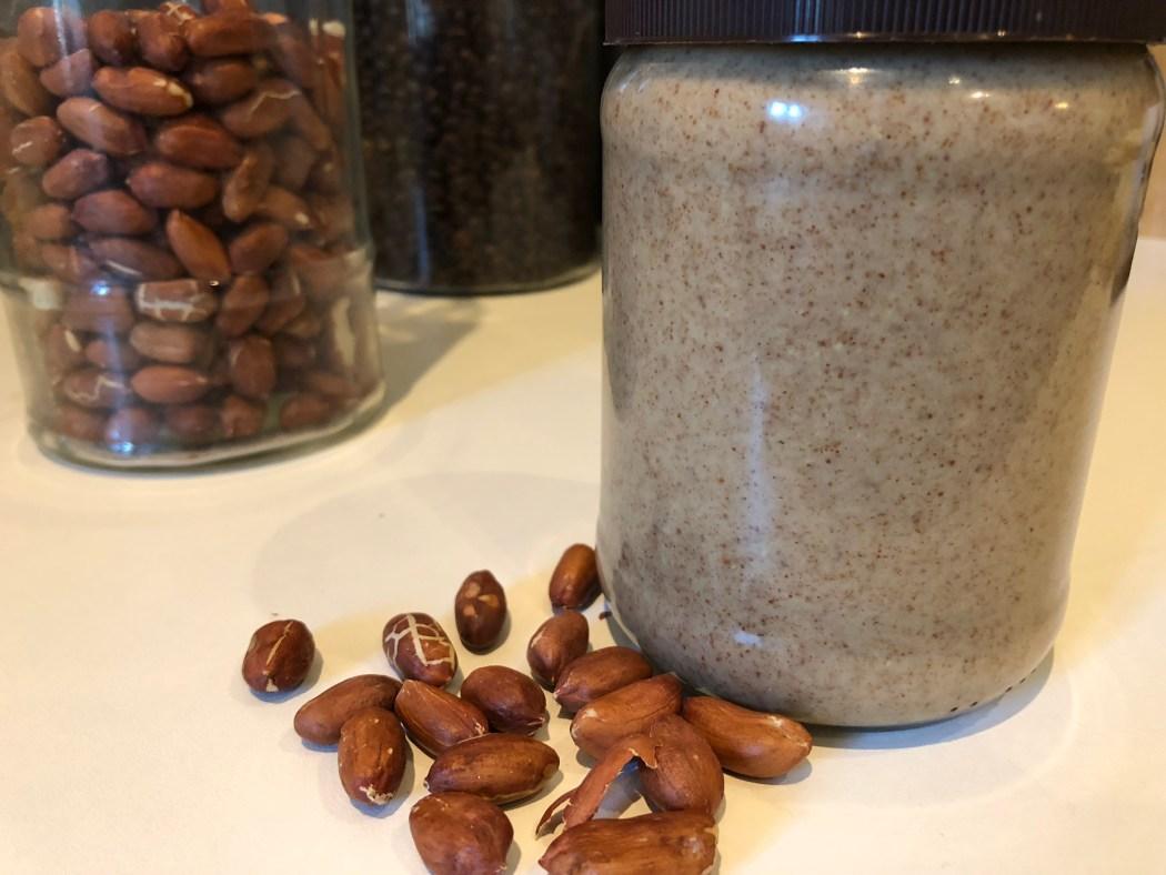 beurre de cacahuète sans sucre et sans sel