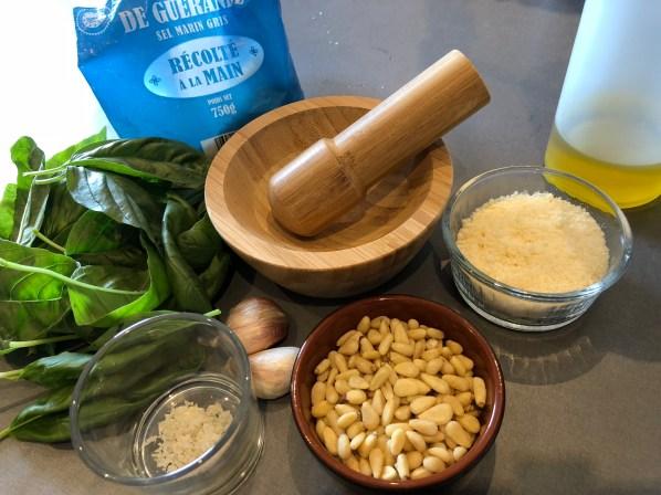 recette de pesto