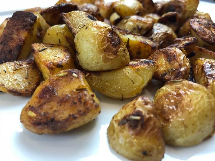 pommes de terre nouvelles façon country potatoes