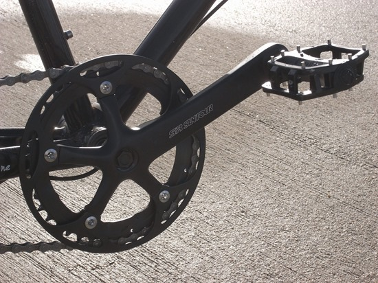 les premières sorties à vélo