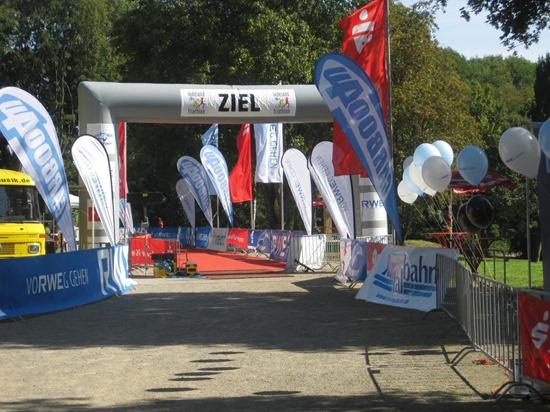 triathlon (half) d'indeland une belle progression