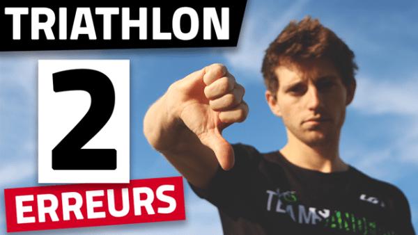 Vignette - Analyse - mes 2 plus grosses erreurs après 4 années de triathlon