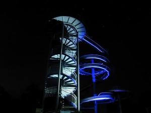 Beleuchtung Wasserrutsche (3)