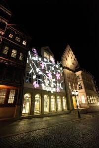 Beleuchtungsprobe Light Night 2010  Hildesheim (11)
