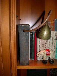 Buchleuchte aus Bronze (2)