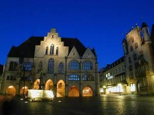 Beleuchtung Marktplatz Hildesheim (2)