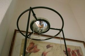 Stehleuchte aus Oldtimerscheinwerfer (6)