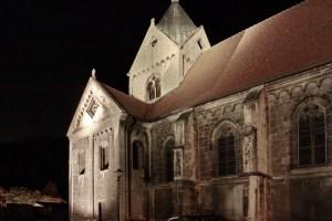 Beleuchtungsprobe St. Marien Freyburg (3)
