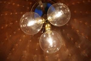 rostige Leuchte 80 cm Durchmesser (1)