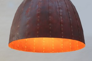 rostige Leuchte 80 cm Durchmesser (2)