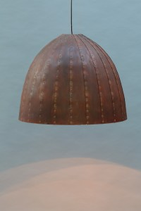 rostige Leuchte 80 cm Durchmesser (9)