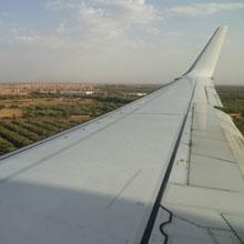 Marokko Reiseinformationen - Flug nach Marrakesch