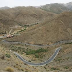 Von Marrakesch nach Ouazazarte  – Tizi n'Tichka Passstraße