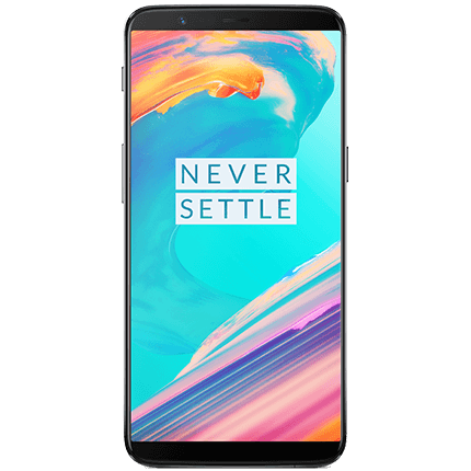 OnePlus 5T (64GB) – 4GB data, Unlimited text & calls – £38.00 per month (£9.99 up front)