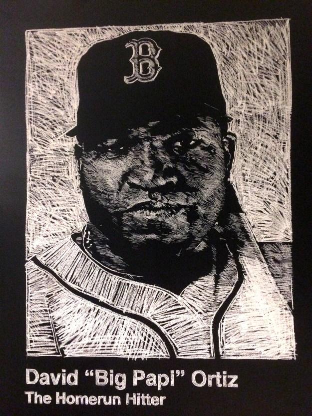 General Assembly Chalk Art Boston David Ortiz