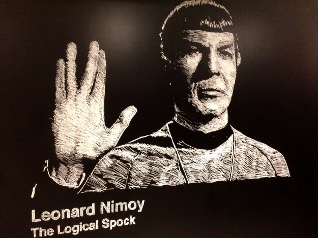 General Assembly Chalk Murals Boston Leonard Nimoy