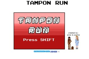 Girl Code Book Tampon Run