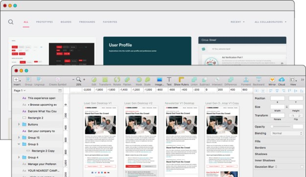 Best Prototyping Tools Invision Sketch
