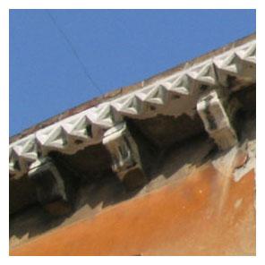 bord toit Venise