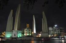 Monument de la Démocratie, à Bangkok, Thaïlande.