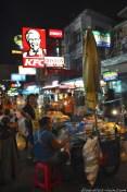 Du côté de Khao San road, à Bangkok.