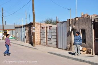 Toconao, près de San Pedro de Atacama. Chili.