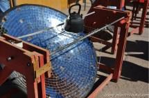 Fours solaires, dans la vallée de l'Elqui.