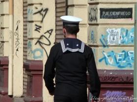 Un marin à Valparaiso. Chili 2013.