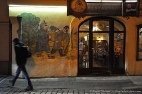 Le restaurant Svejk, du nom du roman.