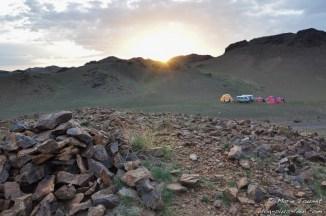 Mongolie : soleil et bivouac