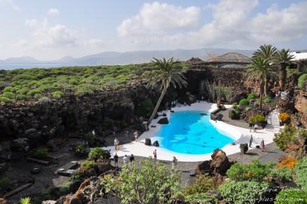 Los Jameos del agua, à Lanzarote (Canaries)