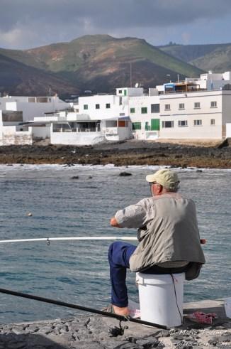 A Arrieta, Lanzarote (Canaries).