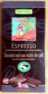 Rapunzel : Chocolat noir Espresso Bio