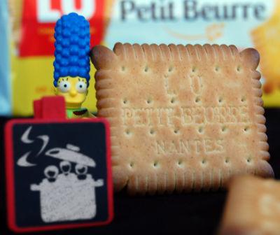 Petit Beurre LU avec Marge Simpson