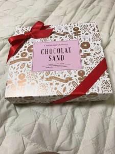 退職時に頂いたチョコレートの写真