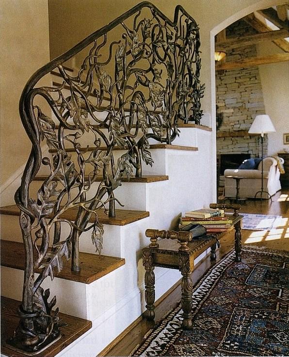 Metal Marshlands Custom Stairway Railings And More By John Boyd   Stair Banisters And Railings   Residential   Guardrail   Indoor   Baluster   Metal