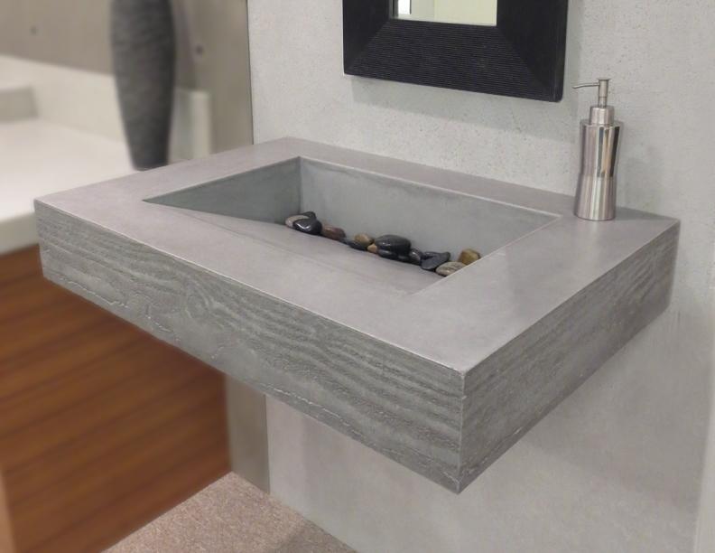8 bespoke bathroom sinks made by