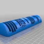 Un cadran solaire qui affiche l'heure numérique imprimé en 3D