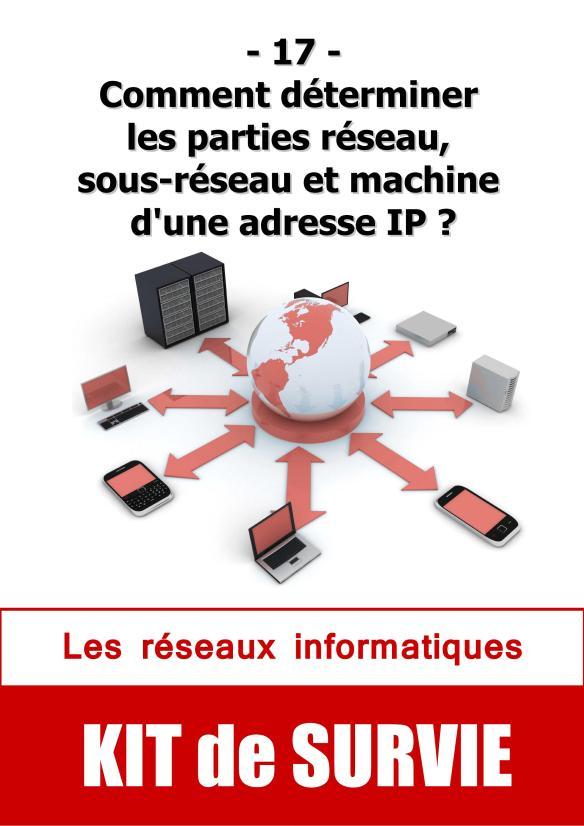#17. Comment déterminer les parties réseau, sous-réseau et machine d'une adresse IP ?