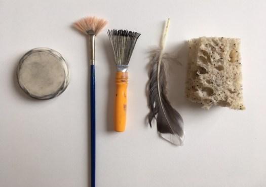 Différents types d'objects pour effacer
