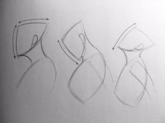 Tiré du livre « dessiner le corps humain» de Steve Huston