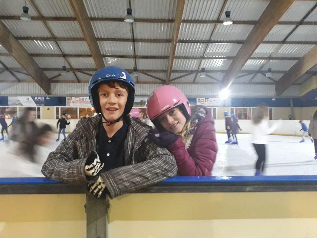 Aften på skøjtebane i Benalmadena