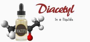 Utilisation du diacétyle dans les e-liquides