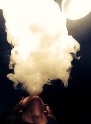 Dampfwolken