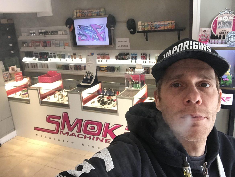 Jérôme Bellen dans une de ses boutiques