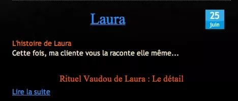 Cliquez et Découvrez le Témoignage de Laura