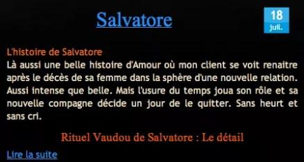 Cliquez et Découvrez le Témoignage de Salvatore